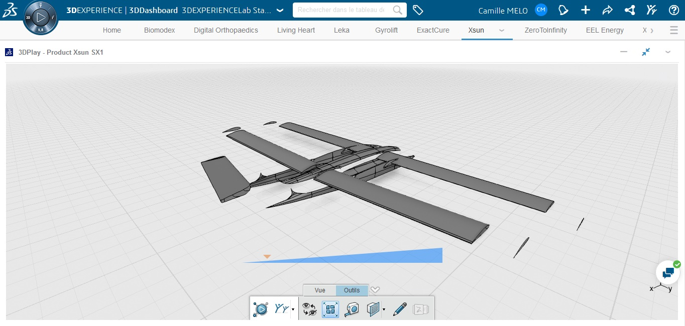 XSUN, a start-up that designs new types of solar UAVs for